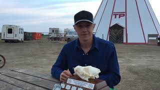 Alberta Trappers Rendezvous 2019 Coyote Speed Skinning record 1:36