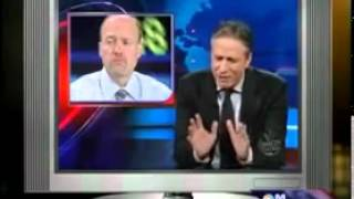Jon Stewart PWNS Jim Cramer on The Daily Show Face 2 Face Full Episode   YouTube