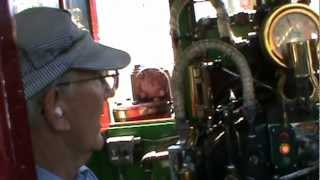 disneyland railroad #1, C.K. Holliday cab ride (first ride featuring shave and a haircut)