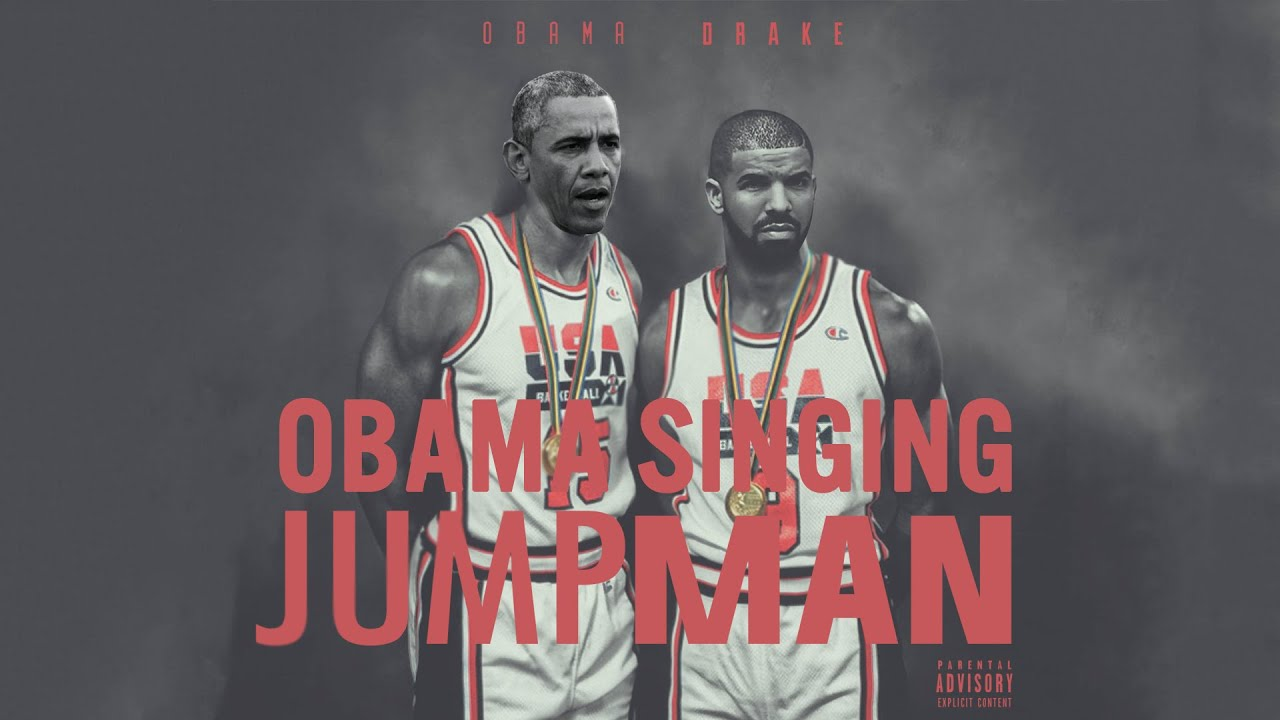 88a61fc1de0 Barack Obama Singing Jumpman by Drake (ft. Andre Drummond) #NBAVOTE ...