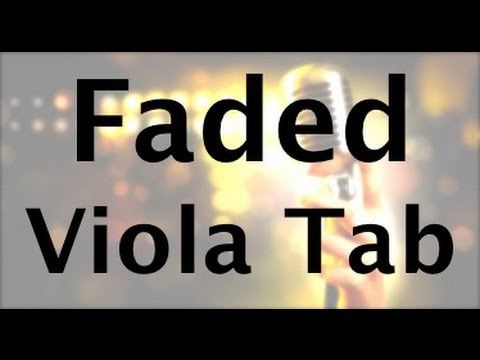 Learn Faded by Alan Walker on Viola - How to Play Tutorial