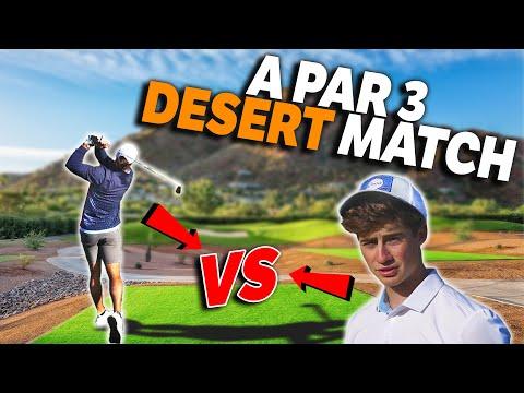 EPIC Par 3 Match Against Garrett | Nicest Par 3 I've Ever Played! | Micah Morris