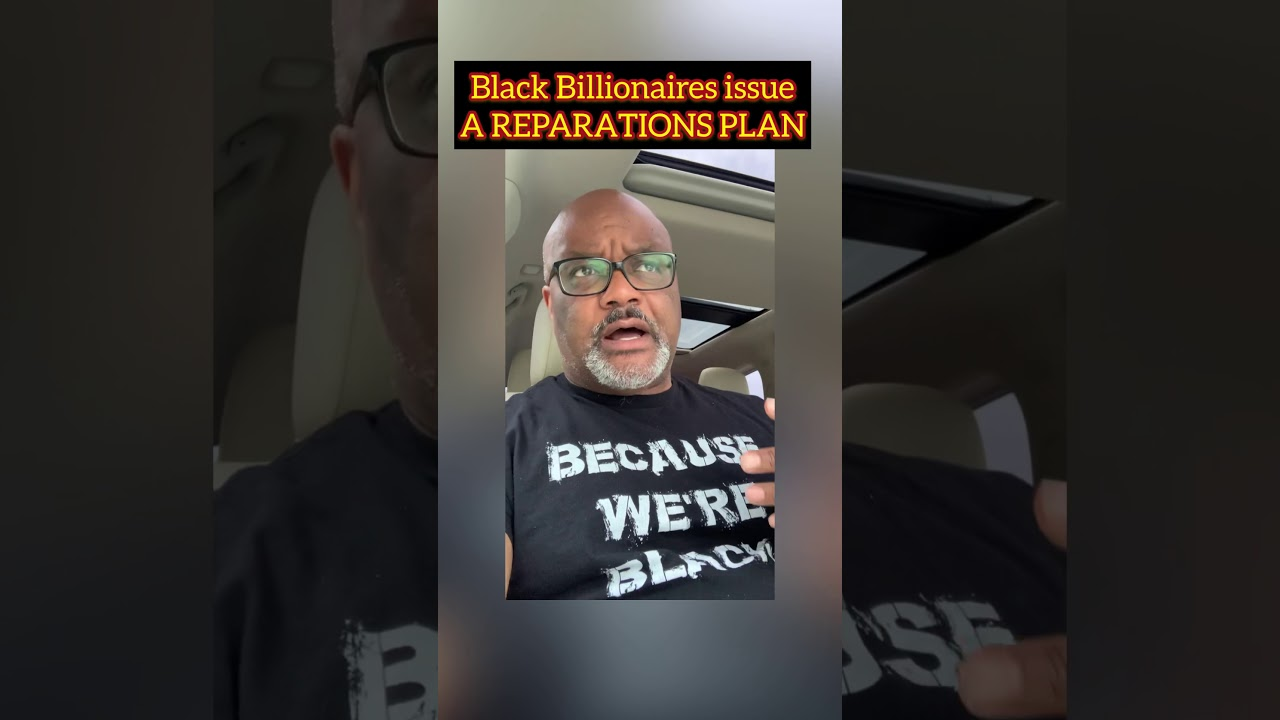 Black billionaire Robert Smith issues a plan for #reparations