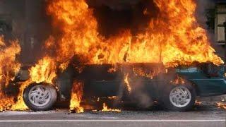 حادث مروري على طريق كوت بغداد و احتراق 23 شخصاً