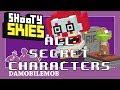 ★ Shooty Skies Halloween Update All Secret Characters Unlocked (Halloween October 2018)