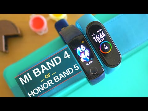 Xiaomi Mi Band 4 Vs Honor Band 5: The Best Budget Fitness Trackers Of 2019