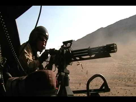 U.S. Marines Huey Door Gunner & U.S. Marines Huey Door Gunner - YouTube