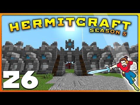 HermitCraft 5 | Ep 26 | ANOTHER BRICK IN THE WALL! | Minecraft Vanilla 1.12
