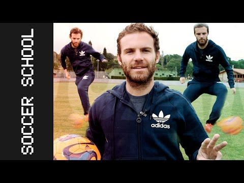 The 3 basic ways to improve your ball control | Juan Mata