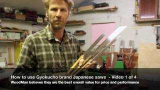 40 How To Use A Japanese Hand Saw  •  1 Of 4 • Japanese Saw Review