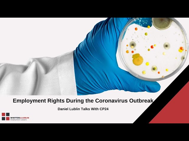 Employment Rights During the Coronavirus Outbreak