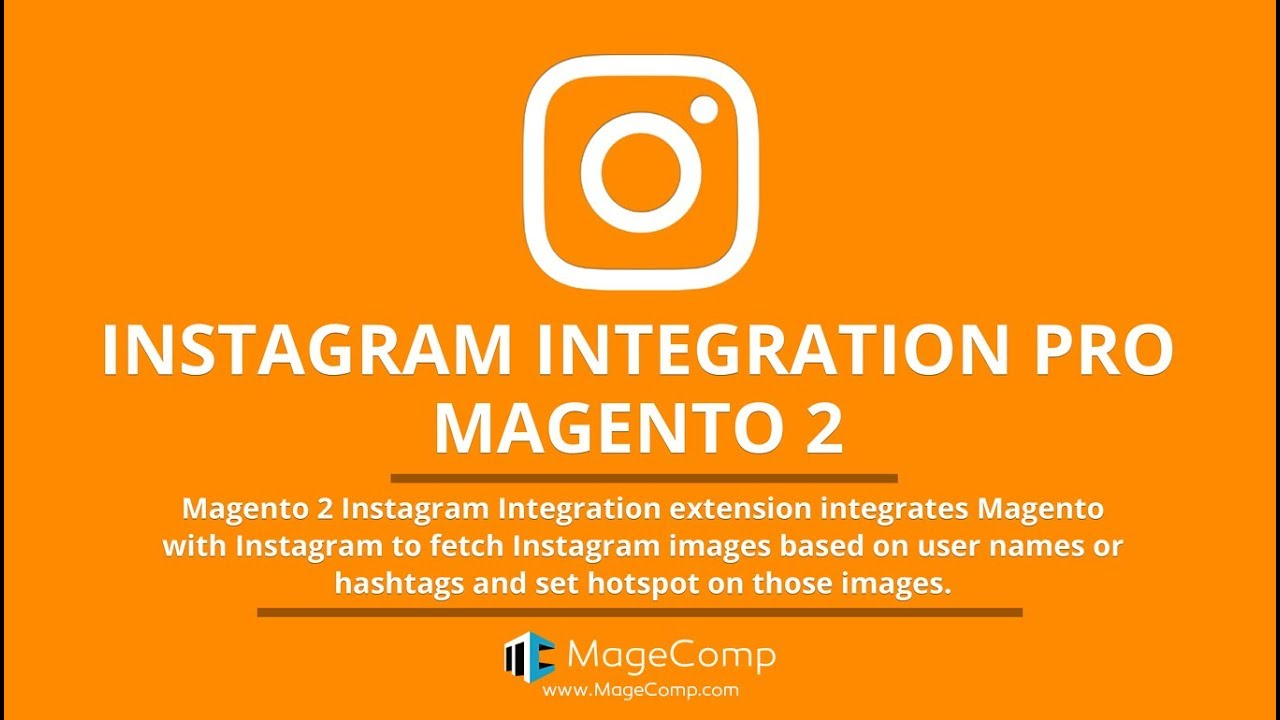 Magento 2 Instagram Integration by MageComp