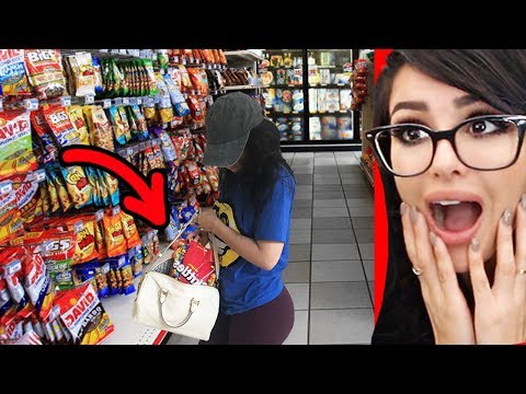 PEOPLE WHO GOT CAUGHT STEALING ON CAMERA