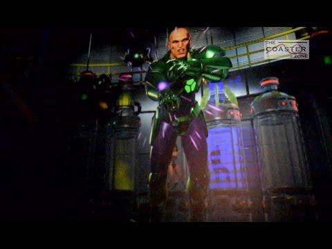 Justice League Battle For Metropolis Six Flags México - Video On Ride