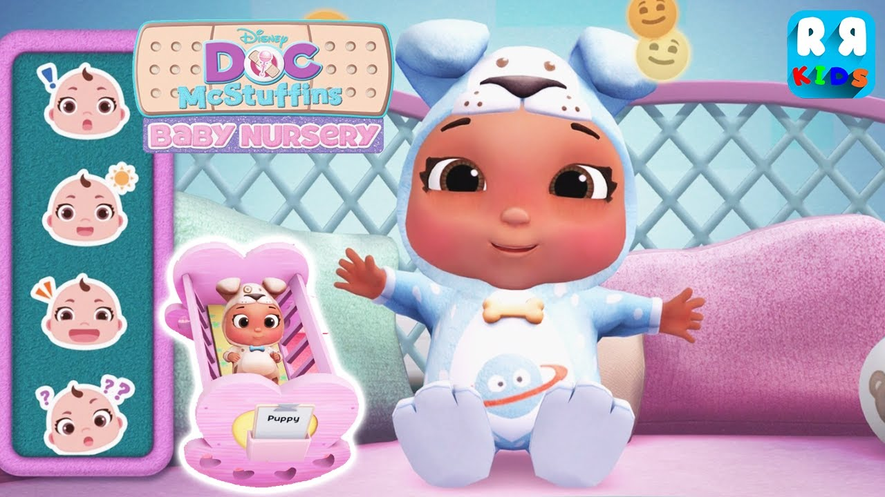 Doc Mcstuffins Baby Nursery Play Peek A Boo With Baby
