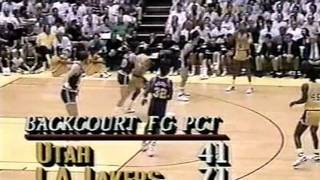 Magic Johnson 1988 Playoffs: 23pts & 16asts, Gm 7 vs. Jazz