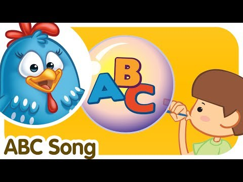 ABC SONG - Classical Alphabet Song for kids - Lottie Dottie Chicken