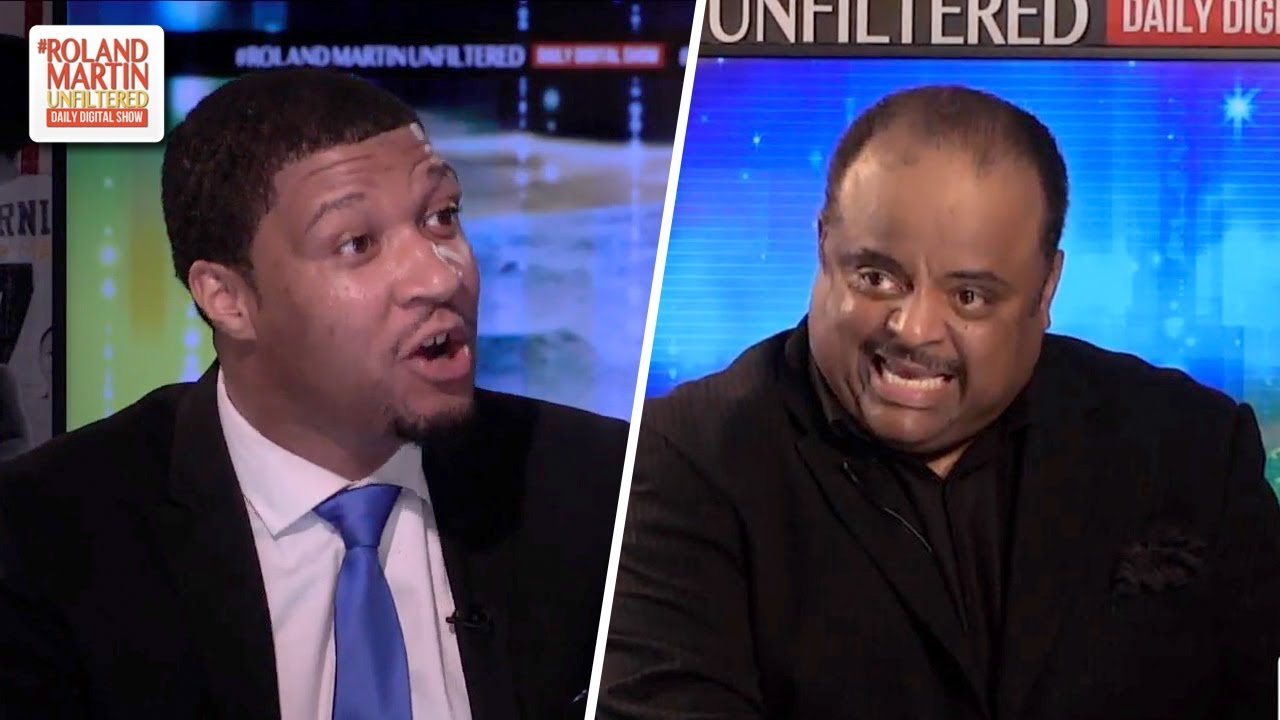 Roland Martin, Brandon Cooper Brawl Over African American Support Of The Democratic Party