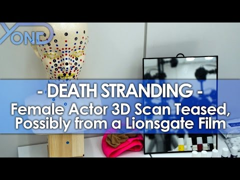 Death Stranding - Female Actor 3D Scan Teased, Possibly from a Lionsgate Film