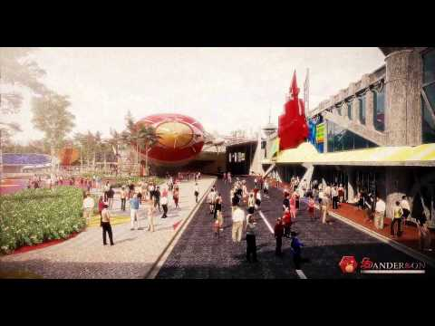 Movie Animation Park Studio (MAPS) , Perak.