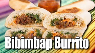 Bibimbap Burrito - Handle it