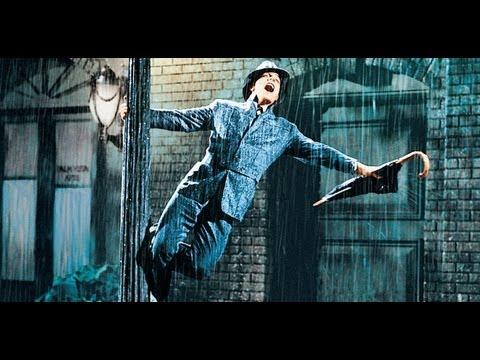 Singing in the rain, canción c subtítulos karaoke de Cantando bajo la lluvia