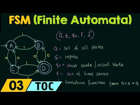 Finite State Machine (Finite Automata)