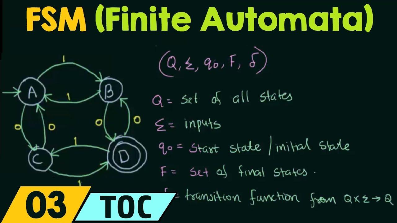 Download Finite State Machine (Finite Automata)