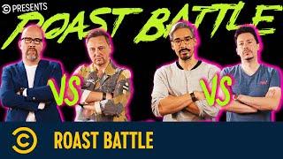 Roast Battle mit Serkan Ates-Stein vs. Christian Schiffer und Lutz Von Rosenberg Lipinsky vs. Ole Lehmann