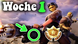 Week 1 Secret Battle Pass Star | Fortnite: Season 9 [English][HD]
