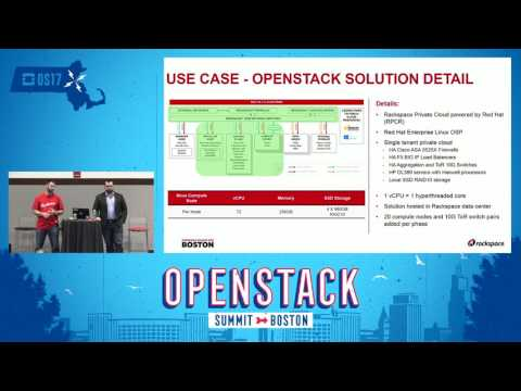 Helping Customers Migrate Workloads from Amazon Web Services to an OpenStack Private Cloud