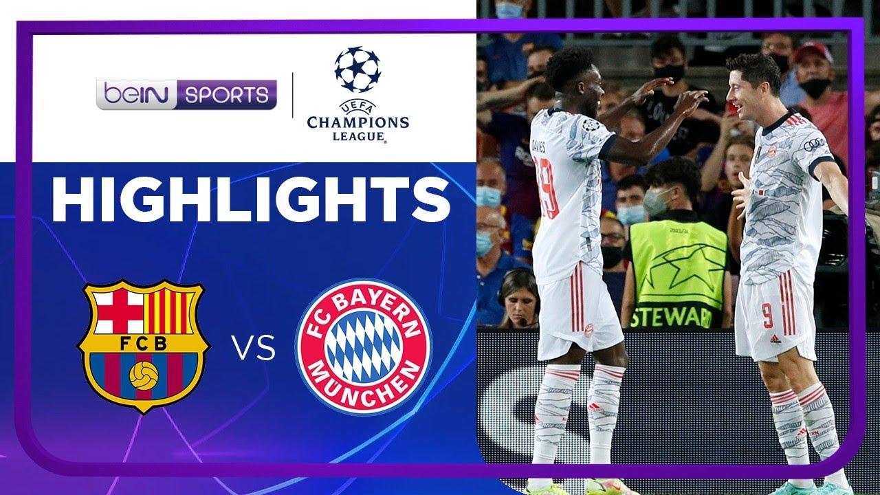 บาร์เซโลน่า 0-3 บาเยิร์น มิวนิค | ยูฟ่า แชมเปียนส์ ลีก ไฮไลต์ Champions League 21/22