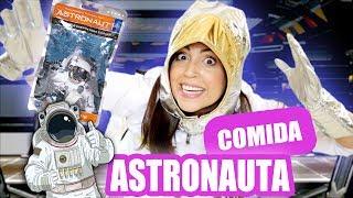 Probando Comida de Astronauta! OMG Helado Seco! SandraCiresArt