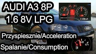 Audi A3 8p 16b 102km Lpg Test Samochodu Używanego Pl