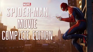 SPIDER-MAN PS4 All Cutscenes Complete Edtion (Includes All DLCS) Game Movie 1080p HD