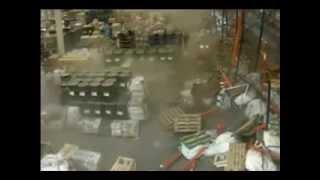 Падение стеллажей Mecalux(Магазин высотно-верхолазного снаряжения