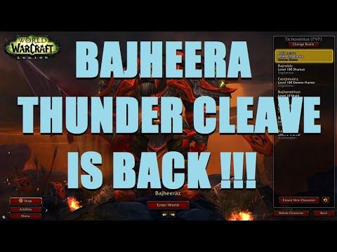 Bajheera - THUNDER CLEAVE IS BACK: Arms 3v3 Arena - WoW BFA Season 3 PvP