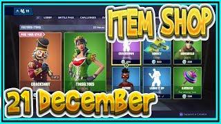 | FORTNITE NL | ITEM SHOP 21 December SKINS and EMOTES-Playr FORTNITE NINE – ENGLISH