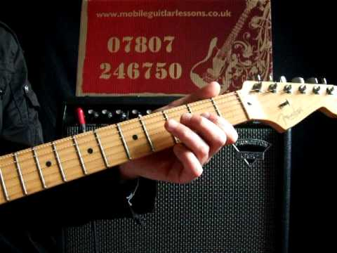Advanced Guitar Lessons Brass In Pocket By The Pretenders Youtube