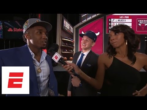 Donovan Mitchell crashes Grayson Allen's interview after Jazz draft Allen No. 21 overall | ESPN