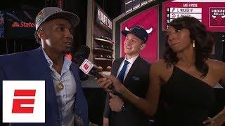 Donovan Mitchell crashes Grayson Allen's interview after Jazz draft Allen No. 21 overall | ESPN