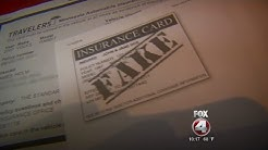 Fake car insurance cards on the rise