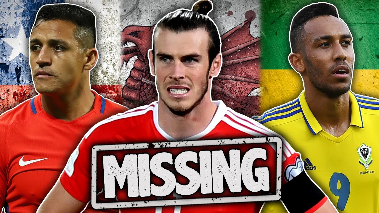 10 players who will miss the world cup 2018 youtube