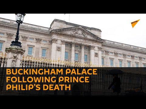 Buckingham Palace Following Prince Philip's Death