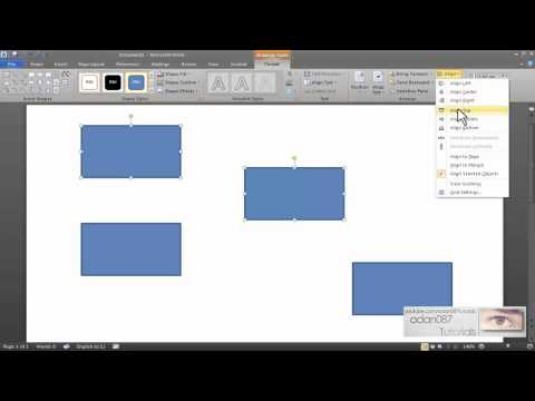Word 2007 Tutorial 14 Working With Shapes and Drawing Tools