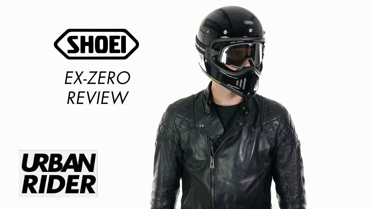 6f92ca9f SHOEI EX-ZERO HELMET - MATT BLACK - Urban Rider London