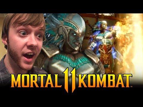 Mortal Kombat  - Kotal Kahn vs Jacqui Briggs Trailer REACTION!!