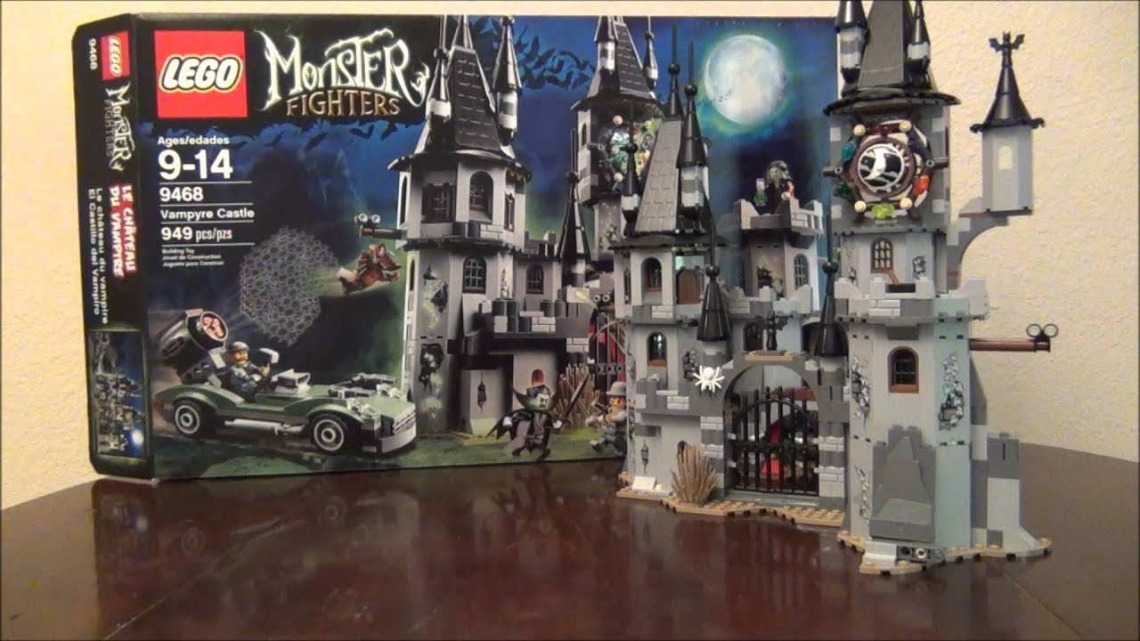 Lego Vampire Castle 9468 Lego Monster Fighters Review