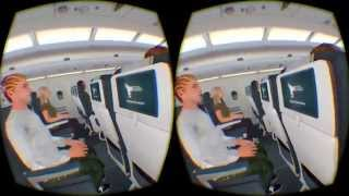 Air Accident Experience on Oculus Rift DK2
