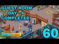 HOMESCAPES STORY WALKTHROUGH - GUEST ROOM - DAY 4 COMPLETED - GAMEPLAY - #60